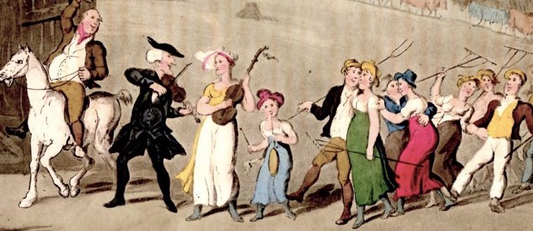 Music While You Work – 18th Century Style